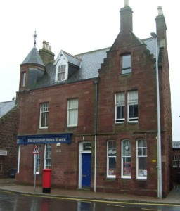 Picture Of The Auld Post Office Turriff