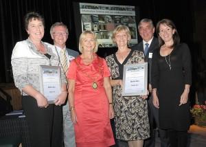 Members of TTAG receiving the Aberdeenshire Design Award