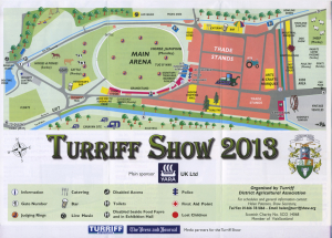 Turriff Show Map