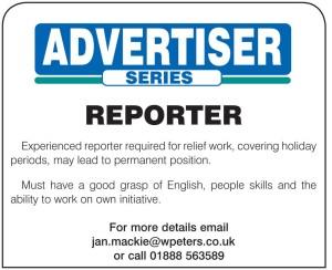 advertiser reporter advert