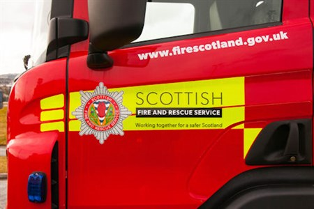 Scottish Fire and Rescue Service Appliance