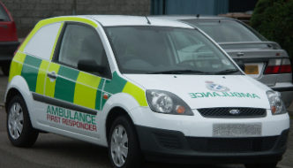 Scottish Ambulance Service Community First Responder vehicle