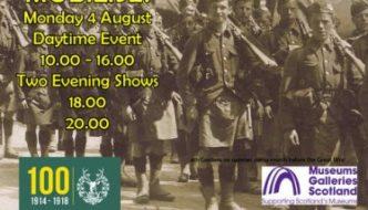 Mobilise flyer from the Gordon Highlanders Museum