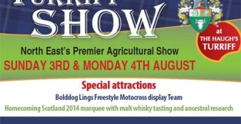 Turriff Show 2014 early bird tickets on sale
