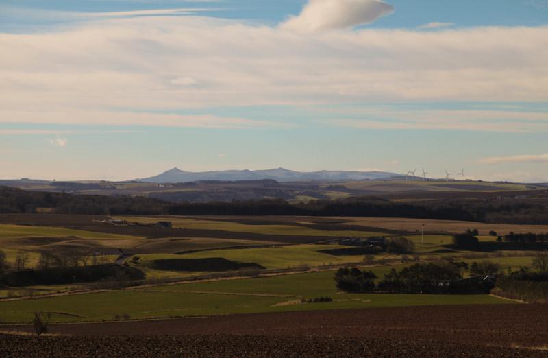 The Bennachie range