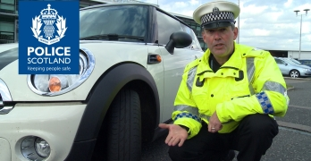 Winter driving tips from Police Scotland