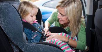 All child car seats tested in Turriff were fitted incorrectly