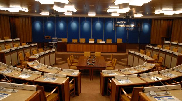 Aberdeenshire Council Chamber