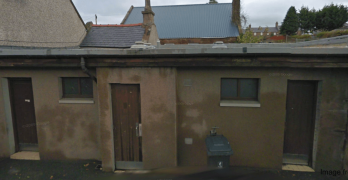 Duff Street public toilets, image from Google Street View