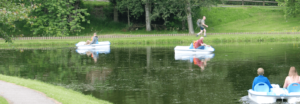 Boating Pond Operator and Town Orderly