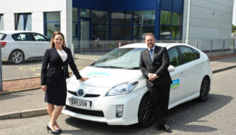 Account manager, Claire Keenan & managing director, Grant Keenan