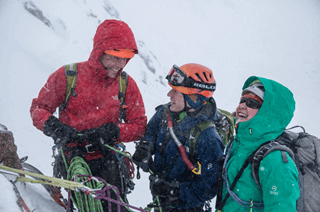 Students partaking in a range of winter mountaineering courses at sportscotland National Outdoor Training Centre, Glenmore Lodge.
