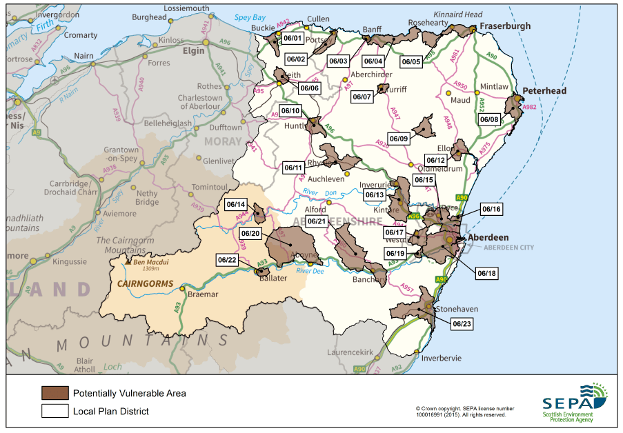 SEPA-North-East-Local-Plan-District-Map