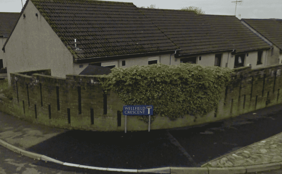 Wellfield Crescent Turriff image from Google maps