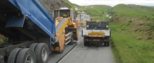 Surface dressing programme underway on roads across the Shire