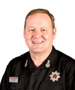 Alasdair Hay - Chief Officer of the Scottish Fire and Rescue Service