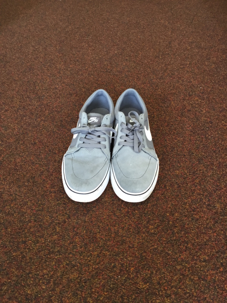 Nike SB training shoes recovered from Balmellie place