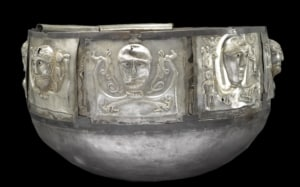 replica of the Gundestrup cauldron