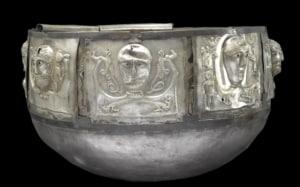 replica of the Gundestrup cauldron
