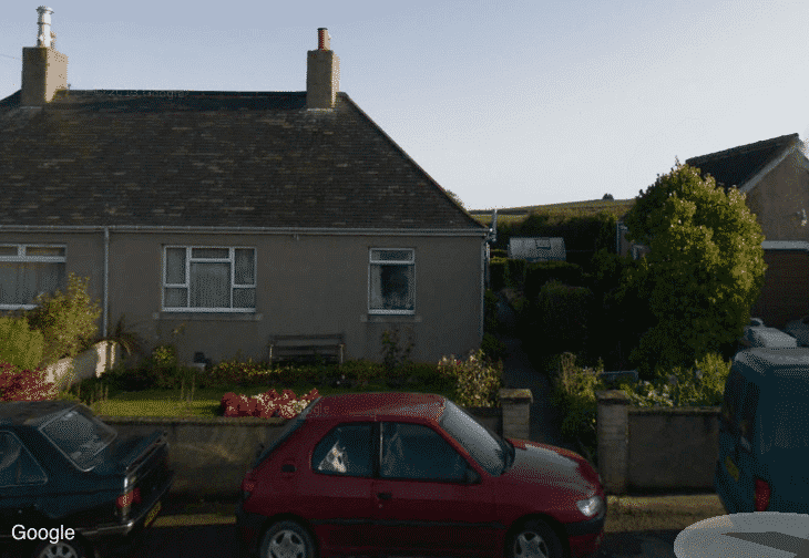 Fairview Cottages the home of murdered Brian McKandie