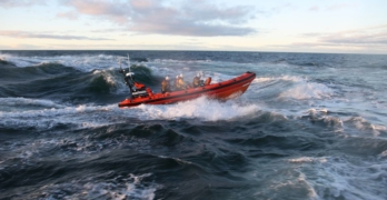 Turriff man makes donation to Macduff lifeboat on behalf of Squaremen