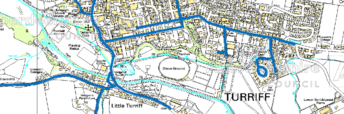 Turriff Show parking restrictions
