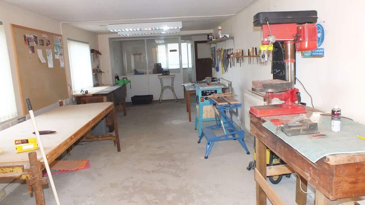 Turriff Men's Shed workshop