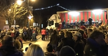 Turriff Christmas Lights switch on road closures