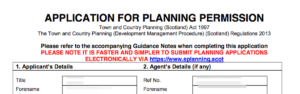 Turriff and District Planning Applications 22 May