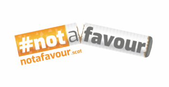 #notafavour campaign launched