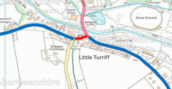 Road Closure – B9024 Bridgend Terrace