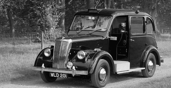 A Beardmore MK7 Taxi